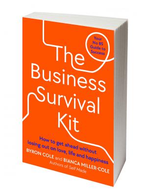 Business Survival Kit Square white